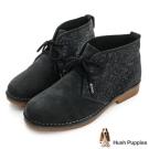 Hush Puppies ICON58沙漠靴-黑亮片