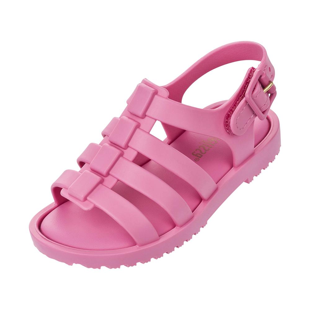 MINI MELISSA果凍羅馬小童涼鞋-粉紅