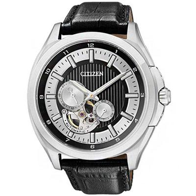 CITIZEN 經典工藝透空機械時尚腕錶(NP1000-04E)-42mm