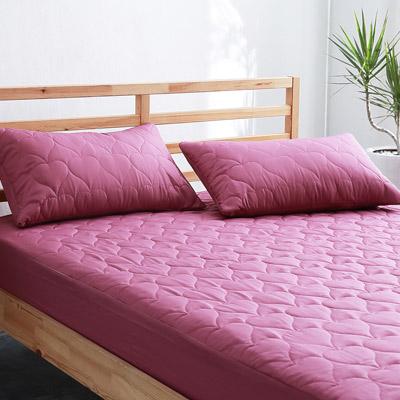 美夢元素 全防水專業級保潔枕套-二入 深紫