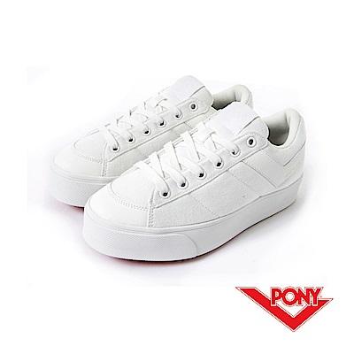 PONY PRO系列 經典復古女鞋-白