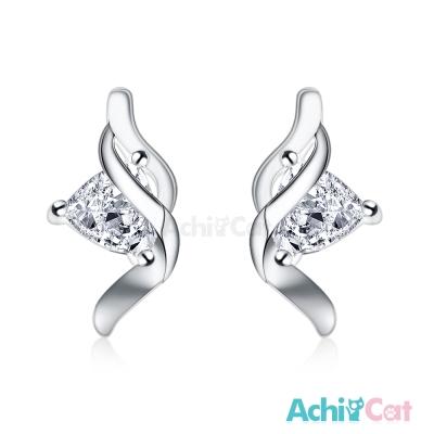 AchiCat 925純銀耳環 美夢相隨 純銀耳針