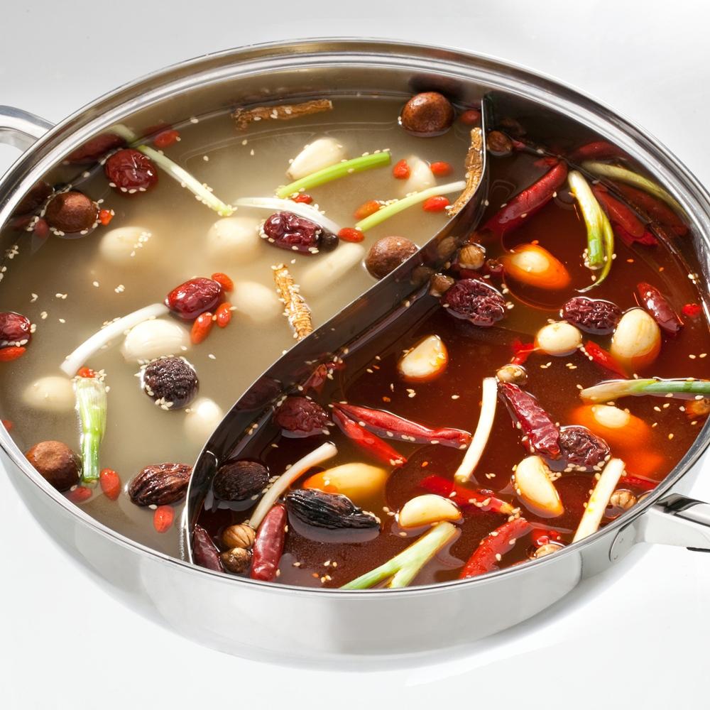 東方韻味-火鍋湯底包 6包組(香辣養生、清香養生、素食養生任選)