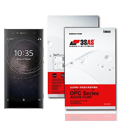 iMos Sony Xperia XA2 Ultra 3SAS 疏油疏水 螢幕保...