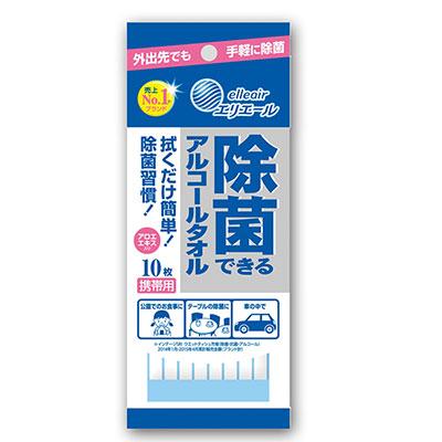 日本大王elleair抗菌濕紙巾攜帶包(10抽/包)