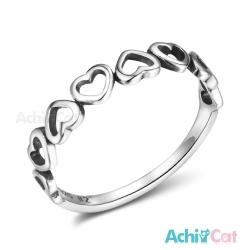 AchiCat 925純銀戒指尾戒 可愛無敵