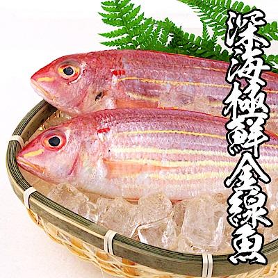 【海鮮王】深海極鮮金線魚 *5件組(250g±10%/2尾裝)