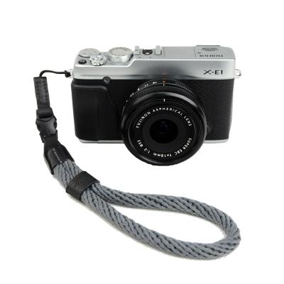 Cam in 棉織細繩款相機手腕帶(共五色)-灰色