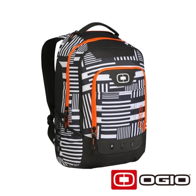 OGIO OPERATIVE 17 吋 行動電腦後背包-白迴紋