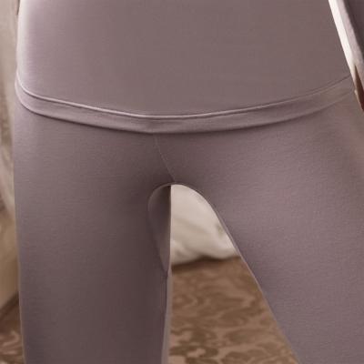 華歌爾 NEW EKS升級發熱 M-LL 九分保暖褲(氣質紫)-保暖-