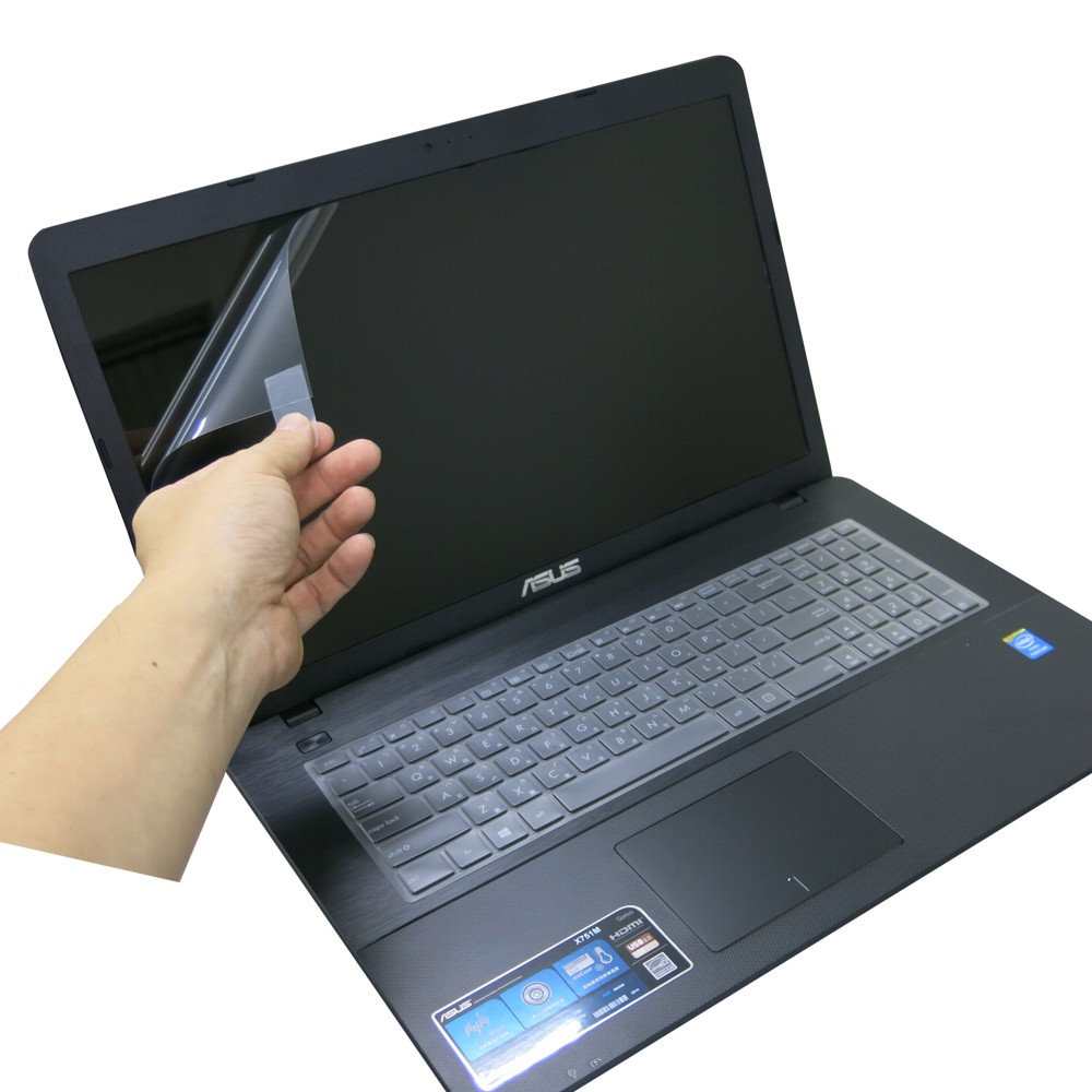 EZstick ASUS X751 亮面防藍光螢幕貼