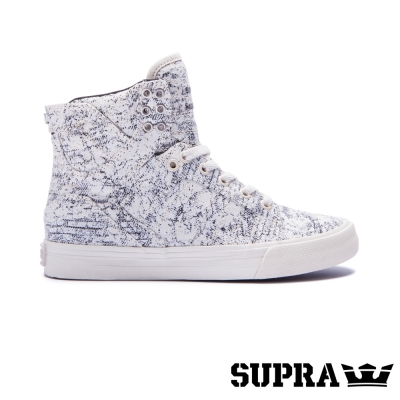 SUPRA Skytop系列女鞋-黑白印花