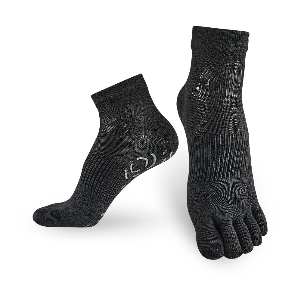 【Titan】太肯五趾功能訓練襪_黑_2雙(適合慢跑、健身房項目)
