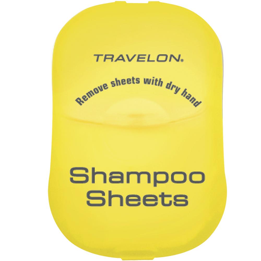 TRAVELON 洗髮旅用皂紙(黃)