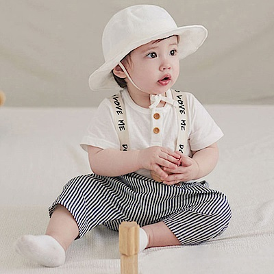 韓國 Happy Prince 頭頂笑臉綁帶遮陽帽