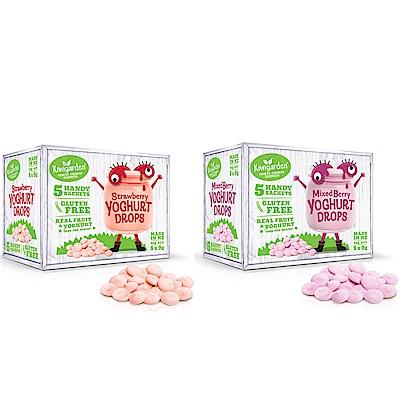 【紐西蘭 Kiwigarden】益菌優格豆 綜合莓果+草莓 2盒組(9gX5包/各1盒)