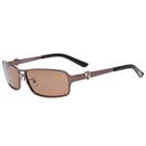 PLAYBOY-時尚太陽眼鏡(咖啡色)PB81051