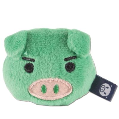 UNIQUE 可愛豬造型磁鐵。綠色