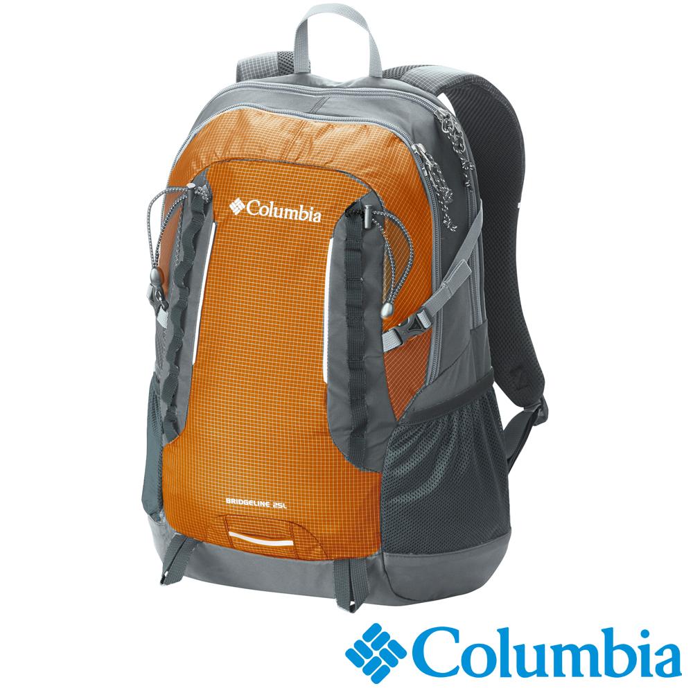 【Columbia哥倫比亞】25L雙肩水袋後背包-橘色 UUU99620OG