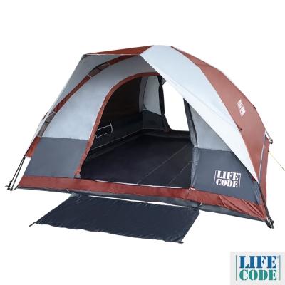 LIFECODE《立可搭》豪華雙門5-6人雙層速搭帳篷-高183 cm