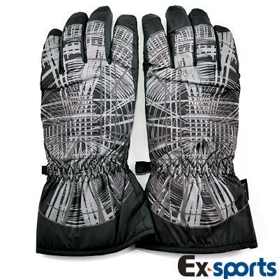 Ex-sports 防水保暖手套 超輕量多功能(男款-7338)