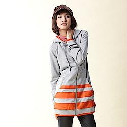 【TOP GIRL】薄絨刷毛布連帽外套