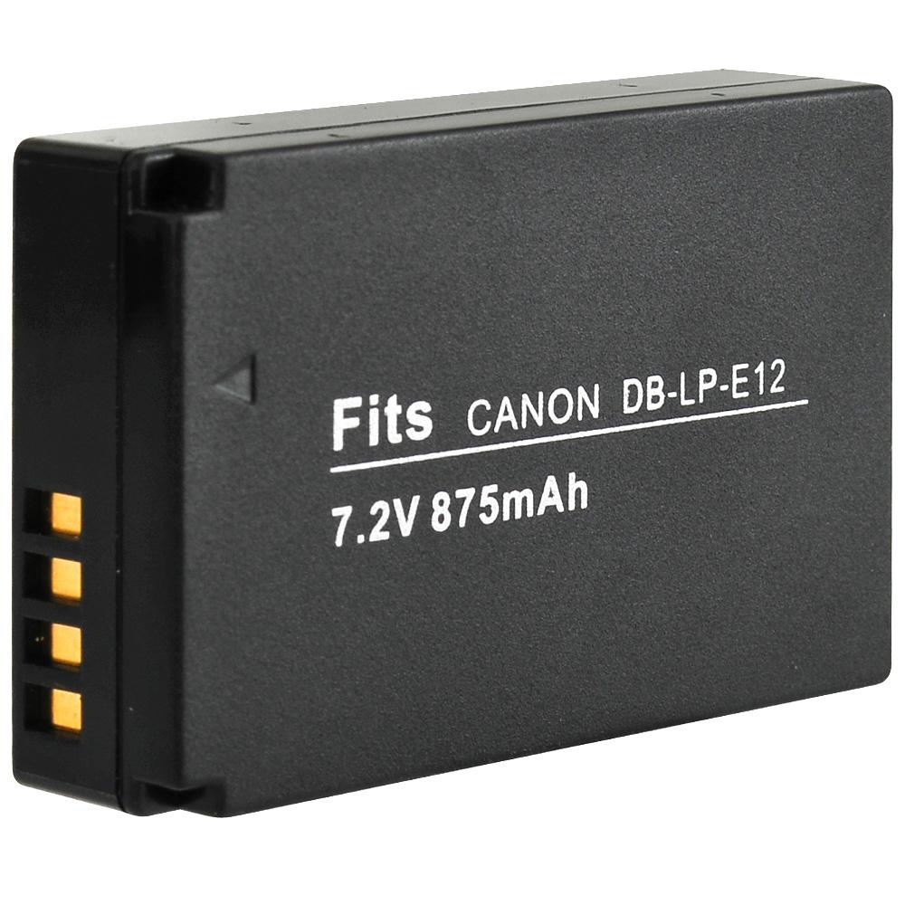 Kamera for Canon LP-E12高品質鋰電池(DB-LP-E12)