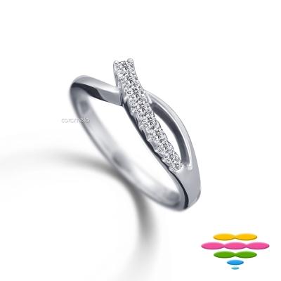彩糖鑽工坊 鑽石 排戒/線戒 Elegance系列