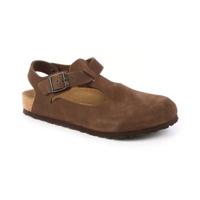 勃肯BIRKENSTOCK 264161。波昂 繫踝包鞋(摩卡)