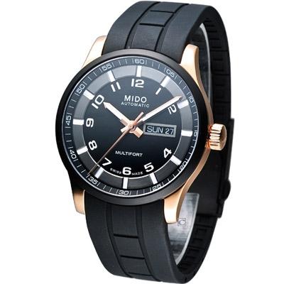 MIDO Multifort 先鋒系列機械腕錶-IP鍍黑/42mm