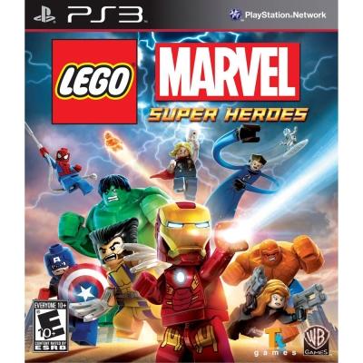 樂高:驚奇超級英雄 LEGO MARVEL SUPER HEROES-PS 3 英文美版