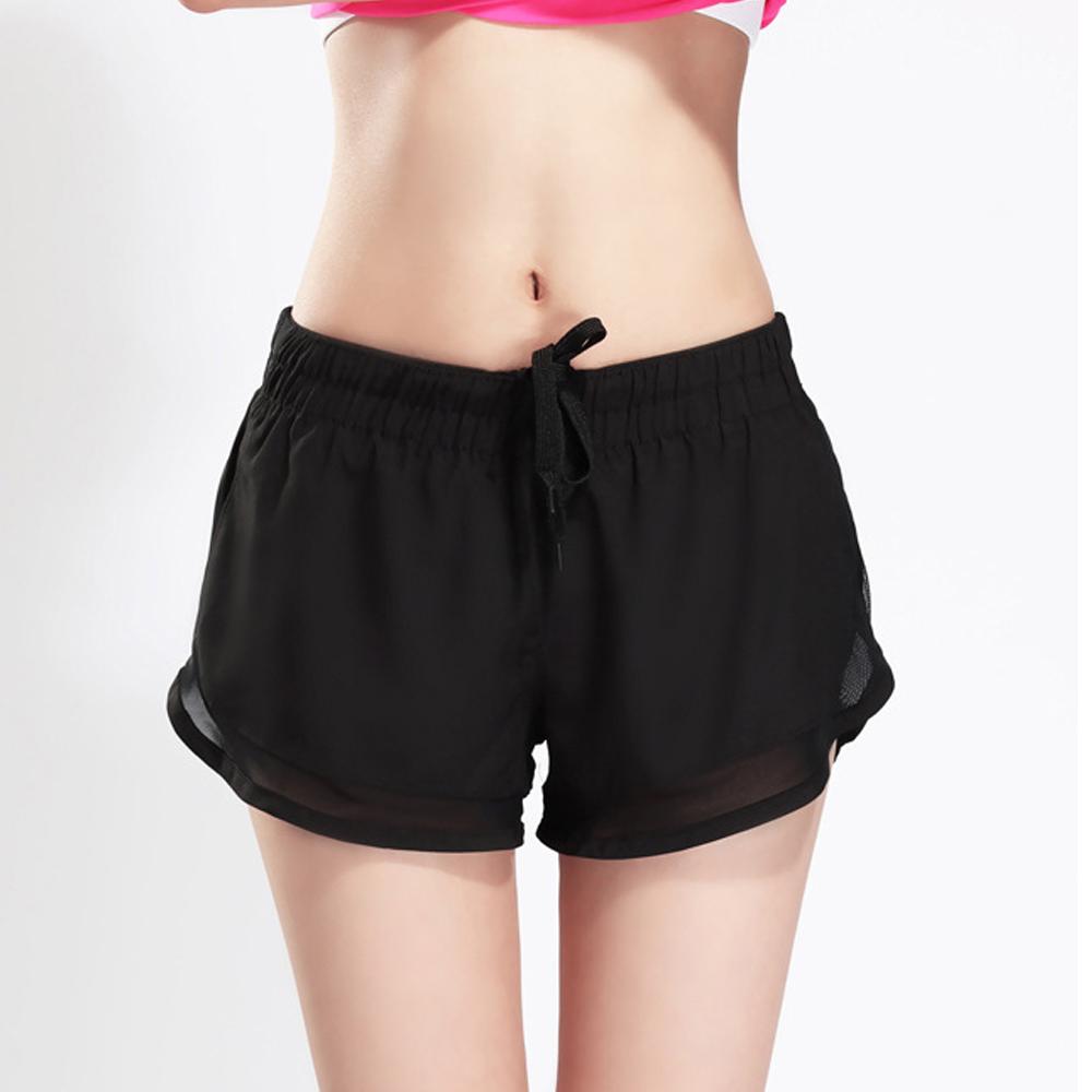 Biki比基尼妮泳衣  雙層清新速乾運動泳褲(單褲子)