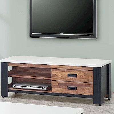 H&D 雙色積層木4尺長櫃 (寬120X深40.5X高47cm)