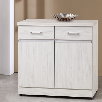 Homelike 安娜2.7尺收納餐櫃-81x41x82cm