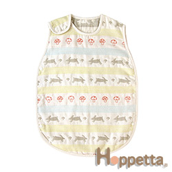Hoppetta 童趣森林六層紗防踢背心(嬰童)