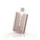 PNY 16G DUO-LINK 3.0 Apple手機平板專用隨身碟(金色)