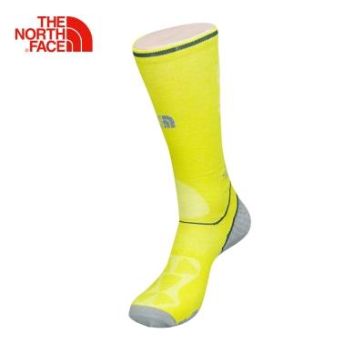 The North Face北面黃色舒適透氣戶外跑步訓練運動襪