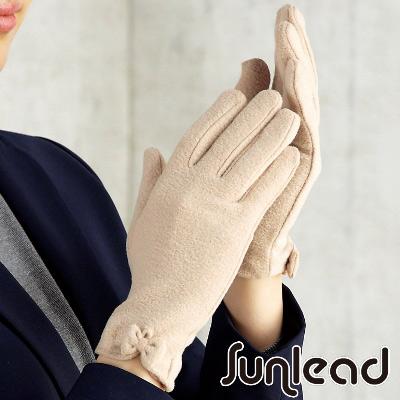 Sunlead-日系防寒防風淑女款純色簡約手套