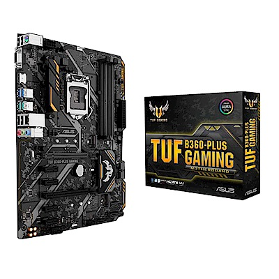 華碩主機板TUF B360-PLUS GAMING