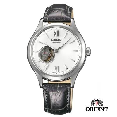 ORIENT 東方錶 ELEGANT系列 優雅小鏤空機械女錶-白色/36mm