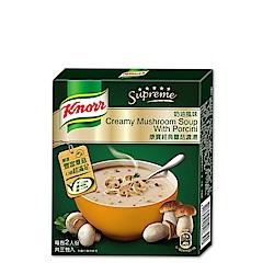 康寶濃湯 奶油風味經典蕈菇濃湯(3入/盒)