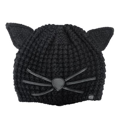 KARL LAGERFELD 黑色貓咪帽
