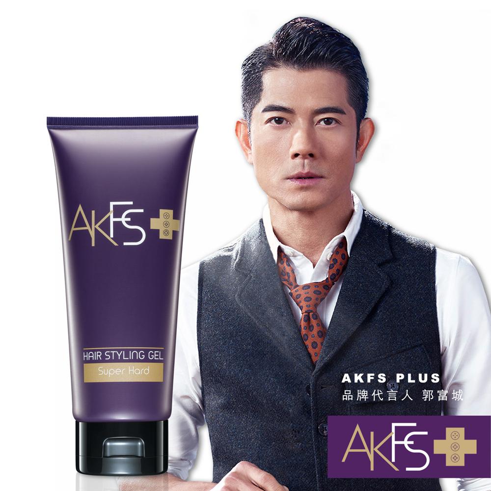 AKFS PLUS 特硬定型髮膠120g