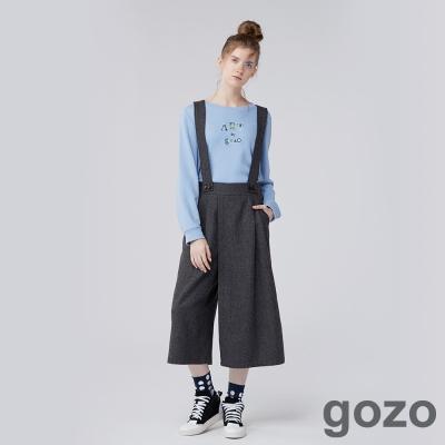 gozo-網路獨家-自由篇章隨性風吊帶褲-二色-動