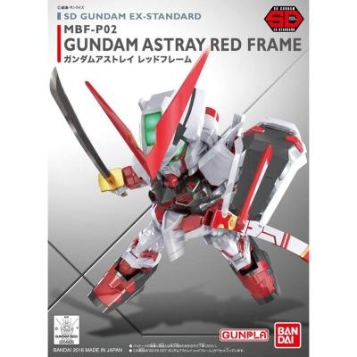 任選 BANDAI SD鋼彈 EX-S系列 MBF-P02 紅色異端鋼彈 007