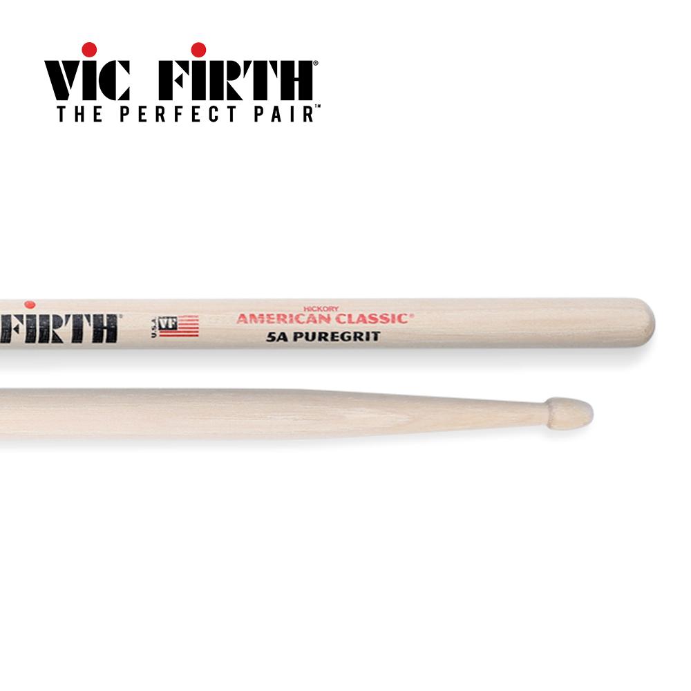 Vic Firth 5APG Pure Grit 胡桃木鼓棒