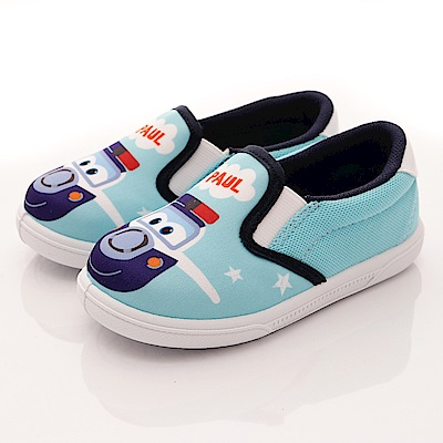 SUPER WINGS 保羅休閒鞋款 EI3608綠(中小童段)