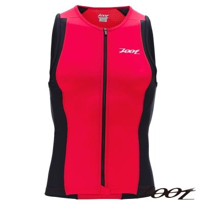 ZOOT 專業級全拉式鐵人上衣(男) Z1406021(時尚紅黑)