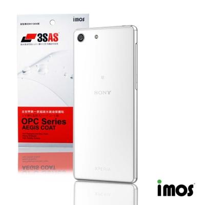 iMos 3SAS SONY Xperia M5(背面)超抗潑水疏油效果保護貼