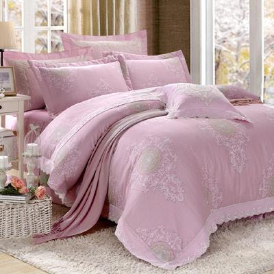 Saint Rose 童話~閃耀 加大加厚 天絲兩用被套床罩八件組